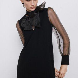 NWT Zara Organza Dress -- SOLD OUT